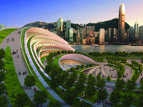 WEST KOWLOON STATION ON TRACK TO BECOME NEW LANDMARK OF HONG KONG