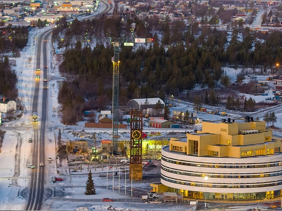 Kiruna City Hall - The Crystal