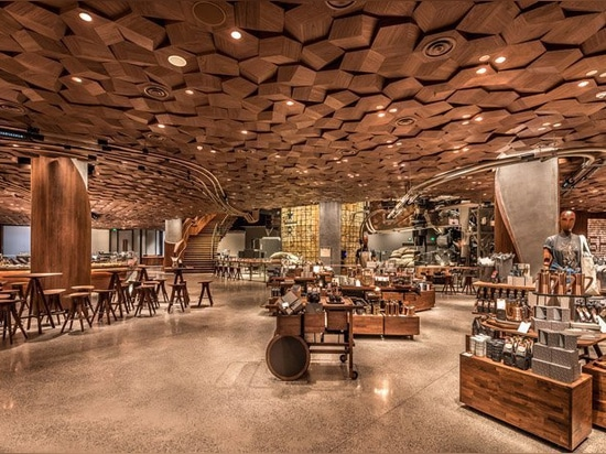 kengo kuma is designing a starbucks reserve roastery for tokyo
