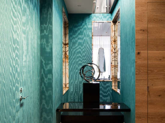 Design suggestions in a triplex in Montréal with Nastro by Ritmonio.