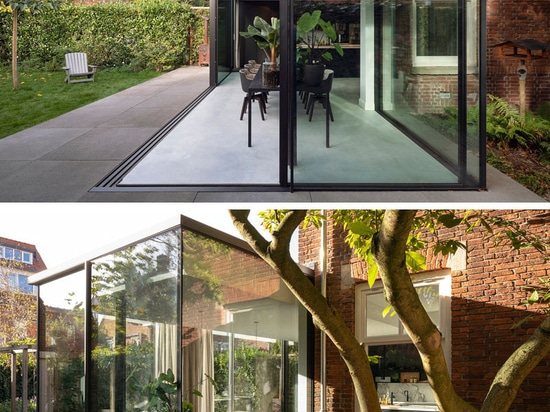 A Contemporary Extension For This 1920s House In The Netherlands