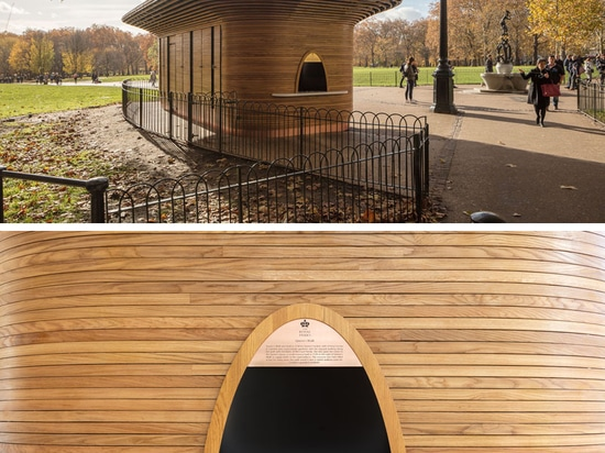 A New Sculptural Park Kiosk Has Opened In London