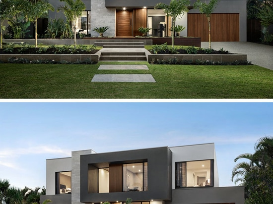 The Design Of 'The Riviera' Is Focused On Indoor/Outdoor Living And Space For Entertaining