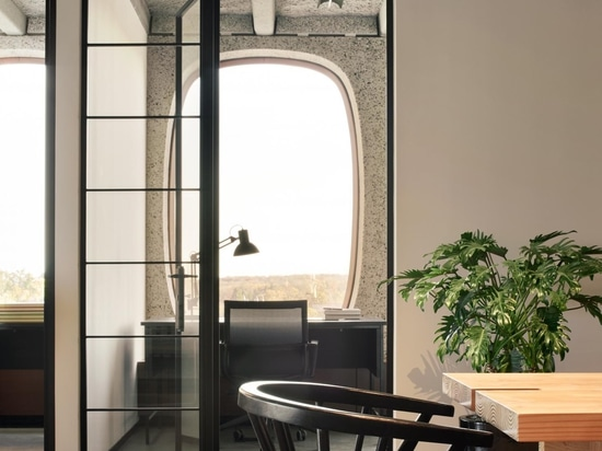 Fosbury & Sons Boitsfort in Brussels brings home comforts into the workplace