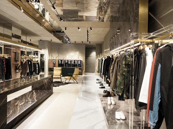 LAMINAM FOR RETAIL INSTALLATIONS