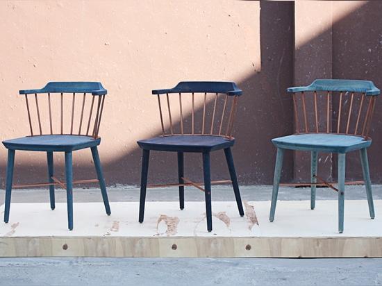 Crème Indigo Chair for Stellar Works