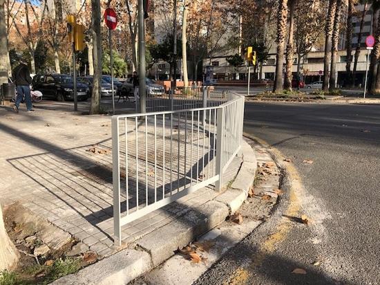 Apolo metallic railings
