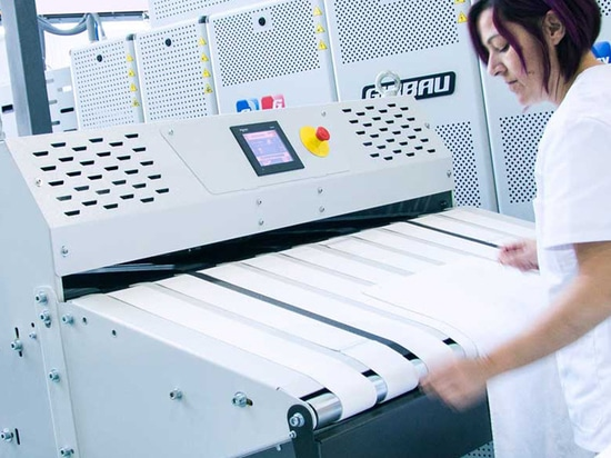 Girbau launches a towel folder for laundries that do not require sorting