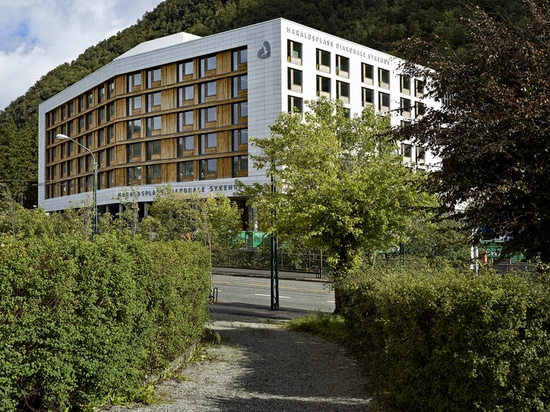 Haraldsplass Hospital / C.F. Møller Architects