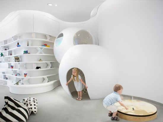 Roar's Nursery of the Future is a high-tech learning space for children in Dubai