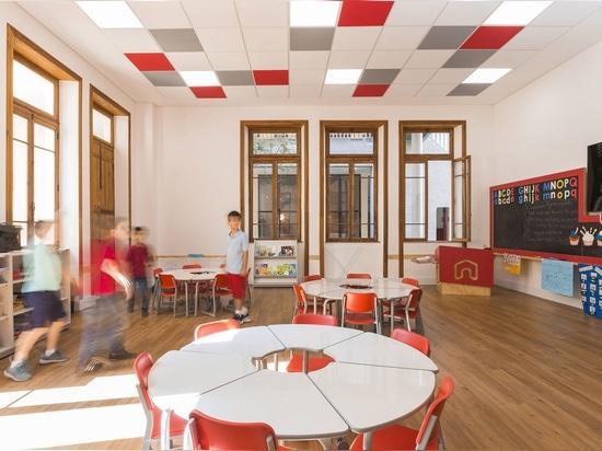 Studio Dlux converts historic building in São Paulo into children's school