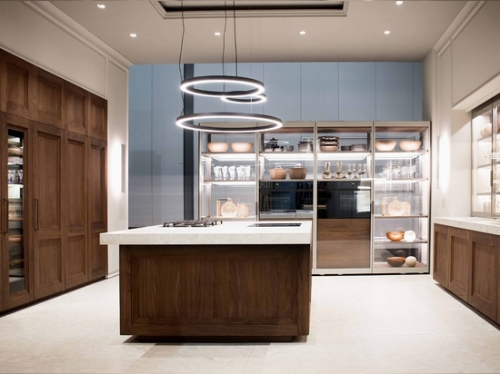 DOCA MIXES TIME, PHILOSOPHY AND NEW MATERIALS AT EUROCUCINA 2018 CREATING A TREND