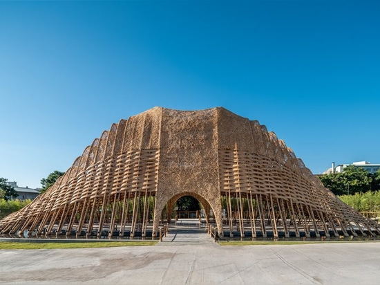 ZUO studio constructs the 'bamboo pavilion' to express the natural beauty of taiwan