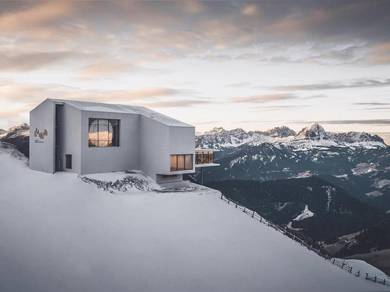 lumen museum of mountain photography sits on top of the dolomites