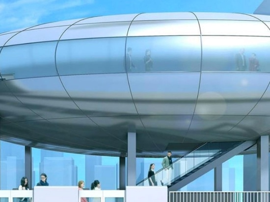 osaka metro plans large-scale redevelopment with futuristic skyscraper station in yumeshima