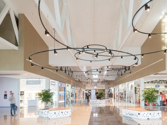 Inside the Shopping Gallery