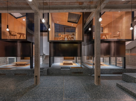 This Teahouse Was Designed With Elevated Private Rooms