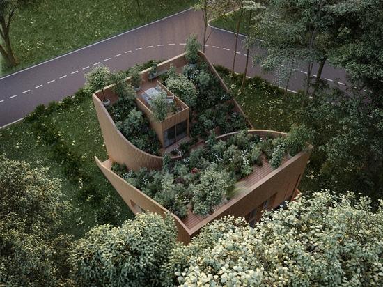 Architectural Dream for a Self-sufficient Home