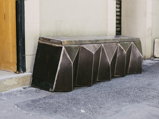 BRUTALIST bench