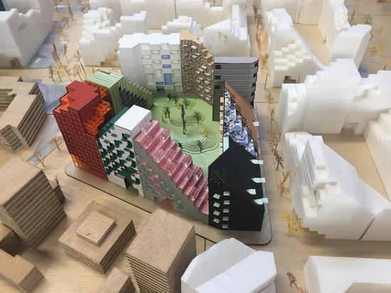 Manuelle Gautrand Designs Futuristic Housing Block for Amsterdam