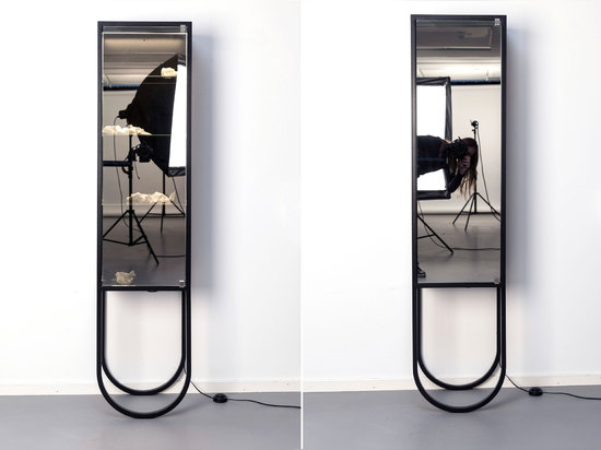 THERÉSE HALLBERG'S CABINET LETS YOU CHOOSE HOW MUCH TO REVEAL