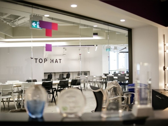Top Hat Office Project feat. Stellar Chair by TOOU