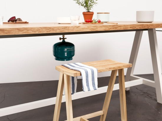 IMM COLOGNE: MORITZ PUTZIER'S COOKING TABLE AT PURE TALENTS