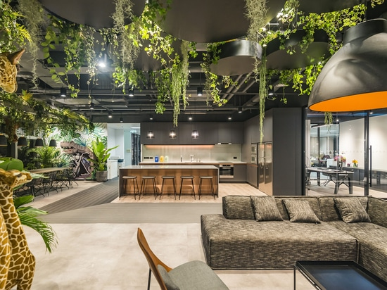 STUDIO X CREATES PLAYFUL & INTERACTIVE WORKPLACE IN HONG KONG FOR US COMPANY