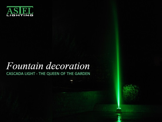 Fountain decoration