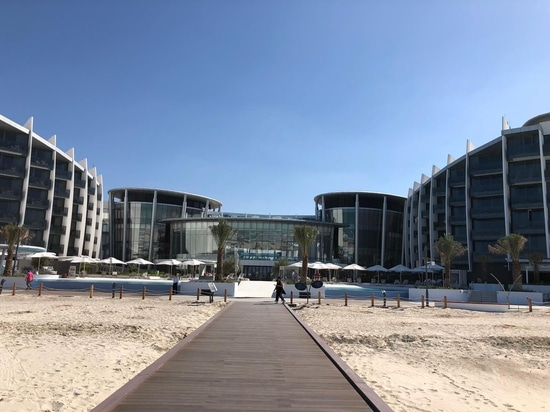 Ceramica Cielo embellishes the rooms of the exclusiveJumeirah Saadiyat Island ResortinAbu Dhabi