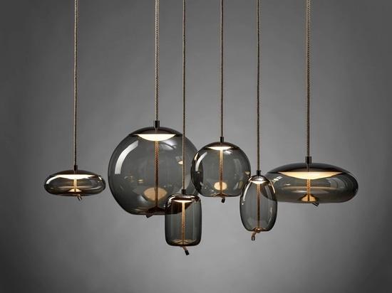 ChiaramonteMarin Designstudio Has Created A Glass Lamp Named KNOT