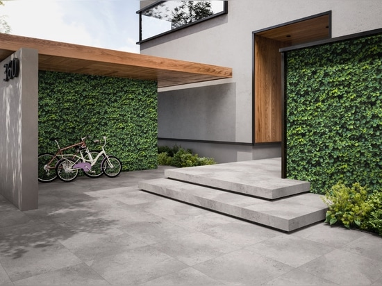 Limpha: the evergreen porcelain stoneware that purifies the air
