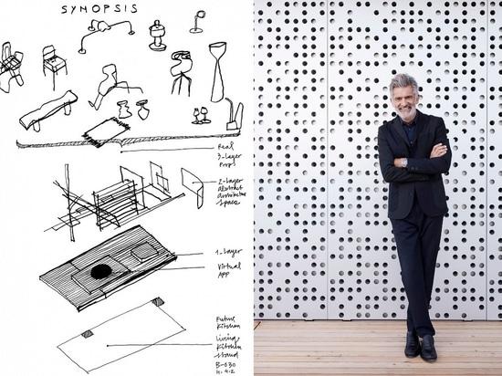 Future Kitchen by Alfredo Häberli