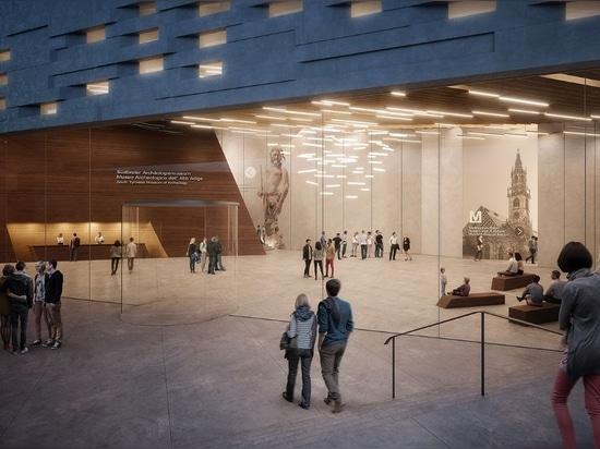 "Snøhetta proposes spiralling mountaintop museum for ""Ötzi the Iceman"""