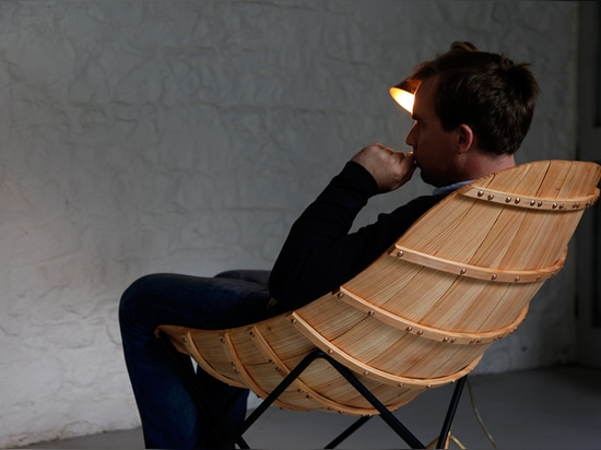 CARVEL CHAIR BY ANDREW CLANCY FOR DÉANTA