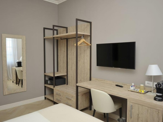 Mobilspazio has funrished Bergamo Inn 43 with the new URBAN line