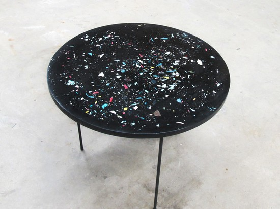 POURED TABLE BY TROELS FLENSTED