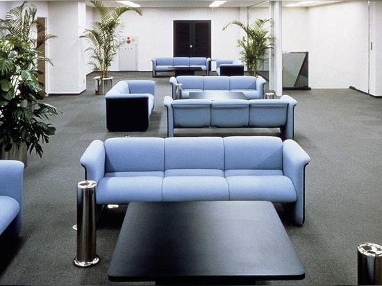 Insit's predecessor: the 840 modular upholstery range by ProduktEntwicklung Roericht Photo: Wilkhahn