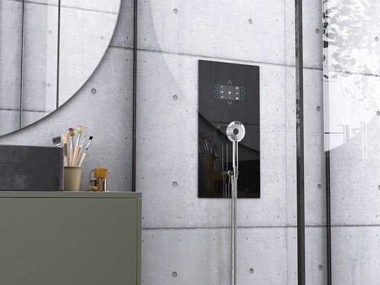 The Connected Shower by French Start-up INMAN