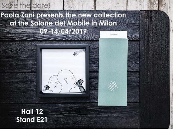 Paola Zani at the Salone del Mobile in Milan 09-14/04/2019