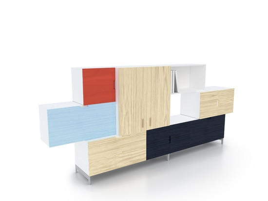 TETRIS STORAGE SYSTEM BY FRONT