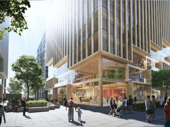 3XN to design tallest timber office building in Canada