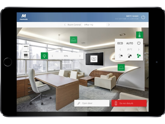 MIDITEC Room automation - The innovative office