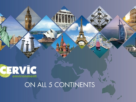Cervic Environment on all 5 continents