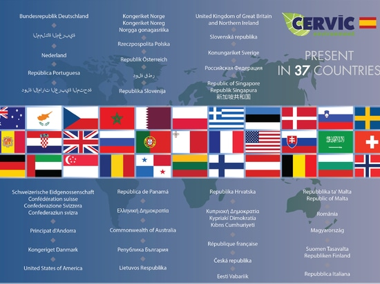 Present in 37 countries