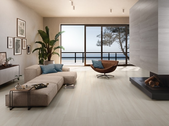 Planks: the elegance and sophistication of wood-effect porcelain stoneware