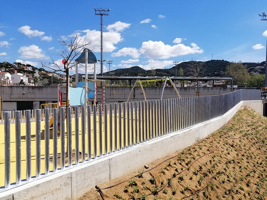 PARC fences in Sant Fost de Campsentelles