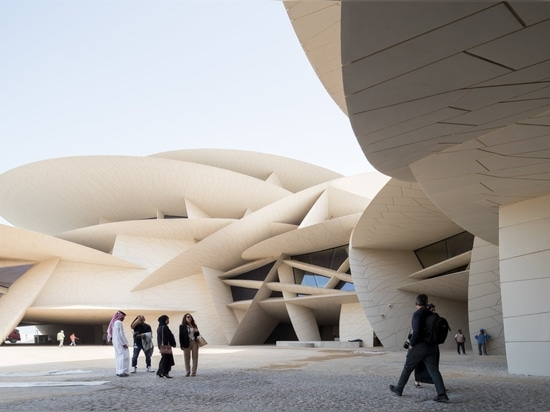 Opens the National Museum of Qatar by Ateliers Jean Nouvel