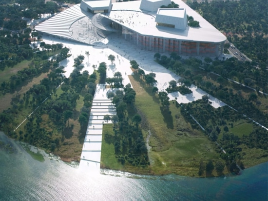 Snøhetta commissioned to design the Shanghai Grand Opera House