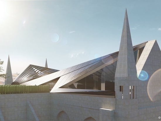'quasimodo's penthouse' by who cares?! proposes a luxury apartment on notre dame's roof